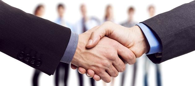 acuerdo, empresarios, apretón de manos, Handshake